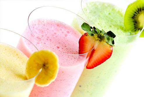 ягодные коктейли для похудения