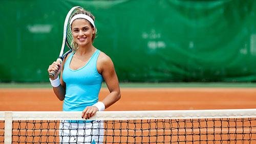 похудеть с помощью тенниса